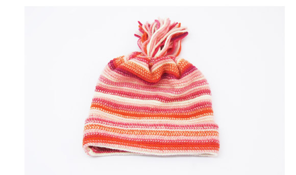 Childrens Lambswool Hats Pink
