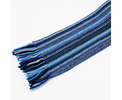 Childrens Lambswool Scarf Blue