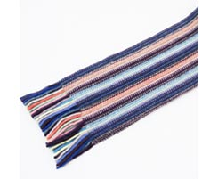 Childrens Lambswool Scarf Lilac