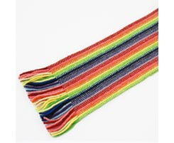 Childrens Lambswool Scarf Rainbow