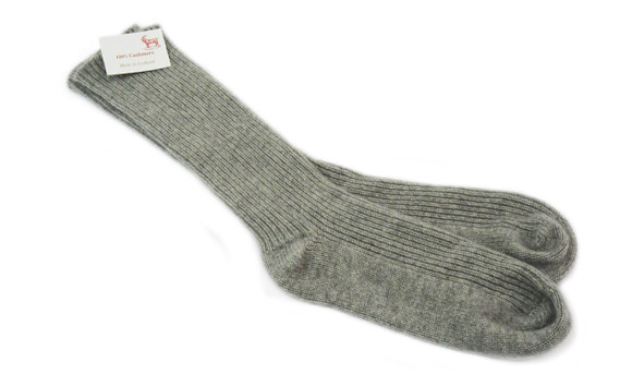 Ladies Cashmere Bed Sock Flannel