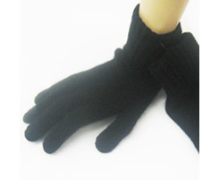 Mens Lambswool Glove Black