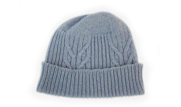 Ladies Lambswool Cable Hat