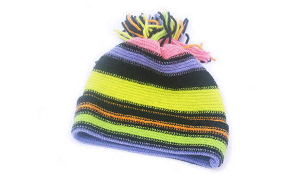 2Ply Ladies Lambswool Hat 43