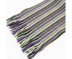 Ladies 2 Ply Lambswool Scarf 8