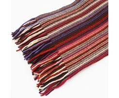 Ladies 2 Ply Lambswool Scarf 37