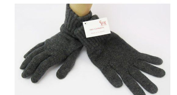 Mens Cashmere Glove Derby