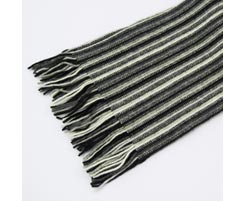 1 Ply Mens 100% Cashmere Scarf 1