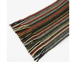 1 Ply Mens 100% Cashmere Scarf 3